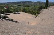 Olympia, antique theatre